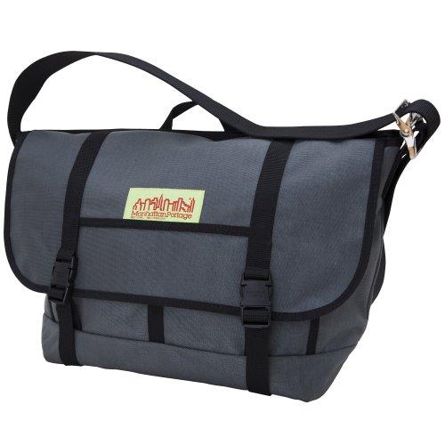 Manhattan Portage 1615 NY Bike Messenger Bag Medium, Unisex - Erwachsene Messengerbag, Grau (Grey), M