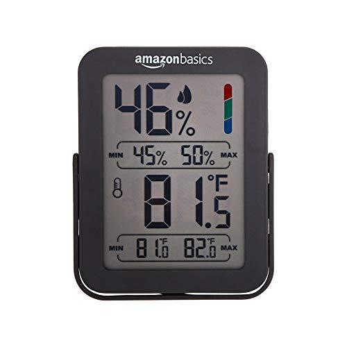 Amazon Basics Thermo-hygromètre numérique