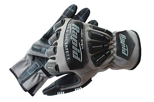 Anti-Vibration, schnittfeste Gripper Handschuhe, hohe Fingerfertigkeit, robust, mechanische Arbeitshandschuhe, Rigger Handschuh, Anti-Vibration, Aufprallreduzierung (Größe -XL)