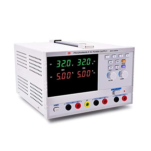 Précis Bloc d'alimentation programmable à double canal 32V5A Bloc d'alimentation régulé à courant continu réglable double route 3205SK Durable