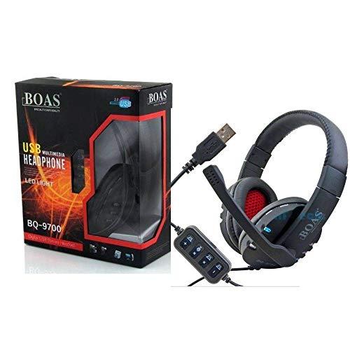 Fone De Ouvido Headset Gamer Usb para Pc Ps3 Ps4 Notebook Bq-9700