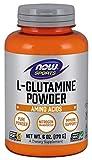 NOW Foods - L-Glutamine Powder 100% Pure - Free Form (170 g) 750 mg. - 6 oz.