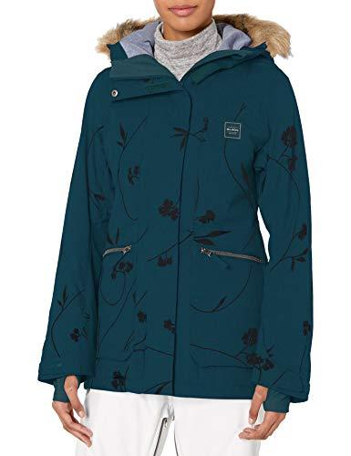 BILLABONG Damen Into The Forest Snowboard Jacket Isolierte Jacke, Eclipse, Large