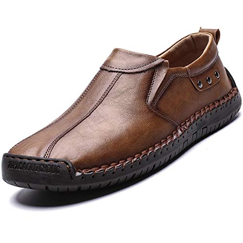 MAIZUN Mens Loafers Casual Slip On Lightweight Walking Shoes Breathable Flat Outdoor Driving Shoes