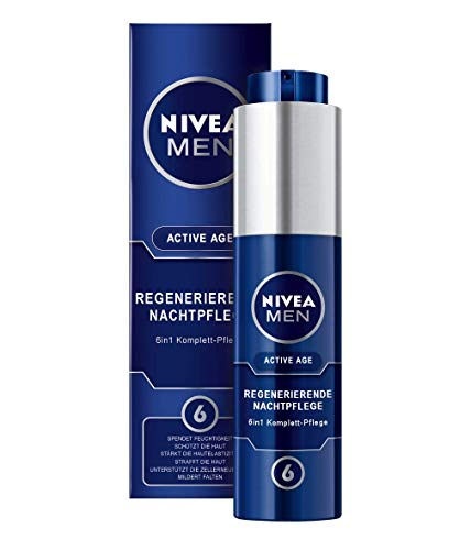 Nivea Men Active Age Regenerierende Nachtpflege 1er Pack (1 x 50 ml)