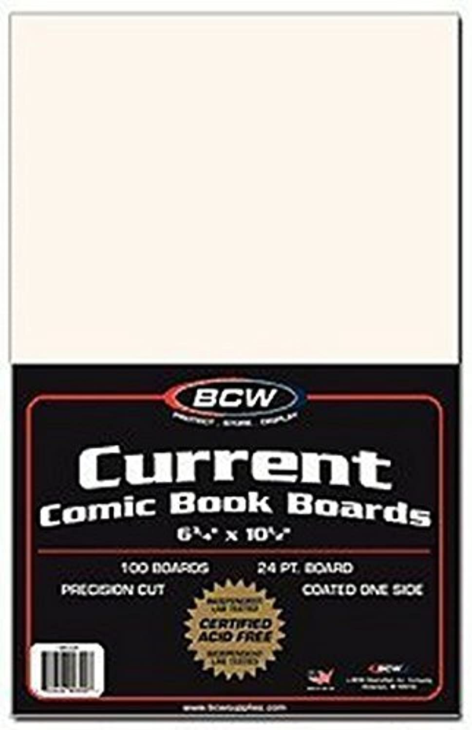 BCW Diversified Current Backer Boards, 100 Piece by BCW Diversified