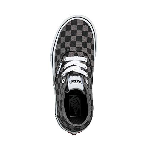 Vans Doheny, Sneaker, Nero ((Checkerboard) Black/Pewter COC), 34.5 EU