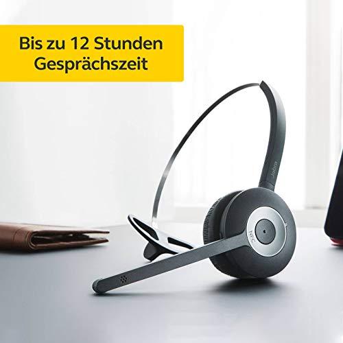 Jabra Pro 935 Bluetooth On-Ear Mono Headset- mit Geräuschunterdrückung und langer Akkulaufzeit- verwendbar mit Softphones und mobilen Endgeräten in Europa- EU-Stecker