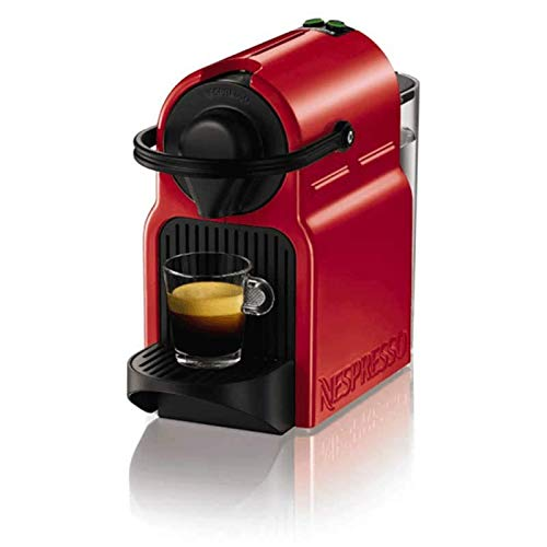 Krups XN1005P40 - Macchina da caffè a capsule rosse, serbatoio da 0,8 l, riscaldamento a 25', selettore di caffè corto o lungo