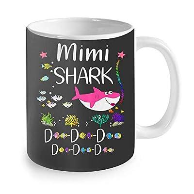 Perfect Gift - Mimi Shark Doo Doo Matching Family Shark Coffee Mug 11oz