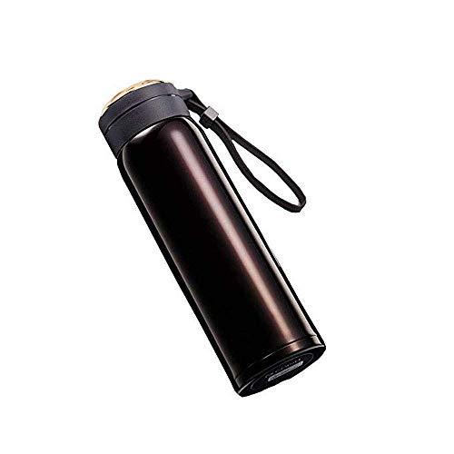 NLRHH Flaskleak Thermique Double en Acier Inoxydable Main Tasse d'eau Personnalité Simple Tasse Simple et extérieure en Acier Inoxydable Creative Plusieurs Tailles Couleurs (Couleur: Champagne) Peng