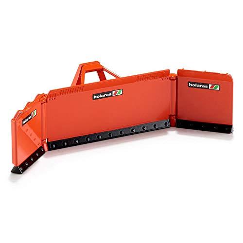 SIKU 2467, Maisschiebeschild, 1:32, Metall, Orange, Ideale Ergänzung zu SIKU Traktoren im gleichen Maßstab