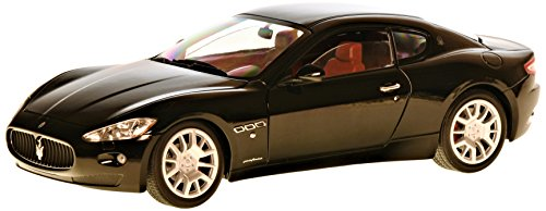 Maserati Gran Turismo, schwarz, Modellauto, Fertigmodell, Mondo Motors 1:18