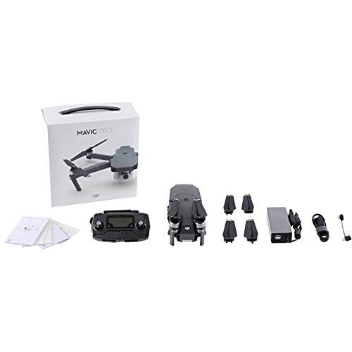 DJI - Mavic Pro - Quadcopter Drone con fotocamera,...