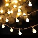 Yinuo Candle Catena Luminosa Di Luci Led 15M【filo di 150 lampadine 15M e Cavo Di Prolunga 3M】Luci Da Esterno E Interno Con 8 Modalità Flash. Per Giardino, Casa, Feste, Natale, Matrimonio, Decorazioni