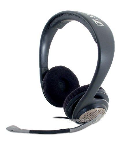 Sennheiser  PC 166 Binaural Multimedia/Gaming Headset with Noise-Canceling Microphone