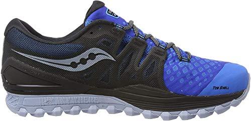 Saucony Xodus Iso 2, Zapatillas de Deporte para Hombre, Azul (Blu / Blk 5), 45 EU