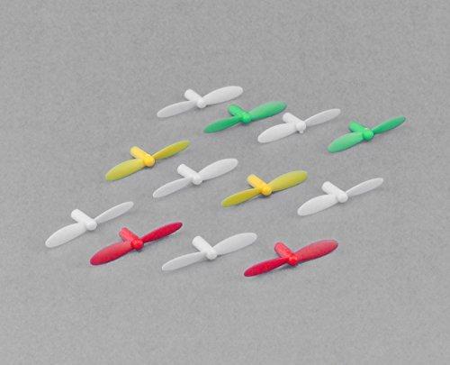 efaso Pezzo di Ricambio quadcoptère V272–02–3x Lame di rotore (Colori Assortiti)