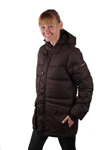 Napapijri Damen Winterjacke Daunen Jacke Parka Braun #RIF050 (XS, Braun)
