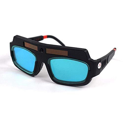 KOBWA Gafas de Soldar de Oscurecimiento Automático, Gafas de Protección para...