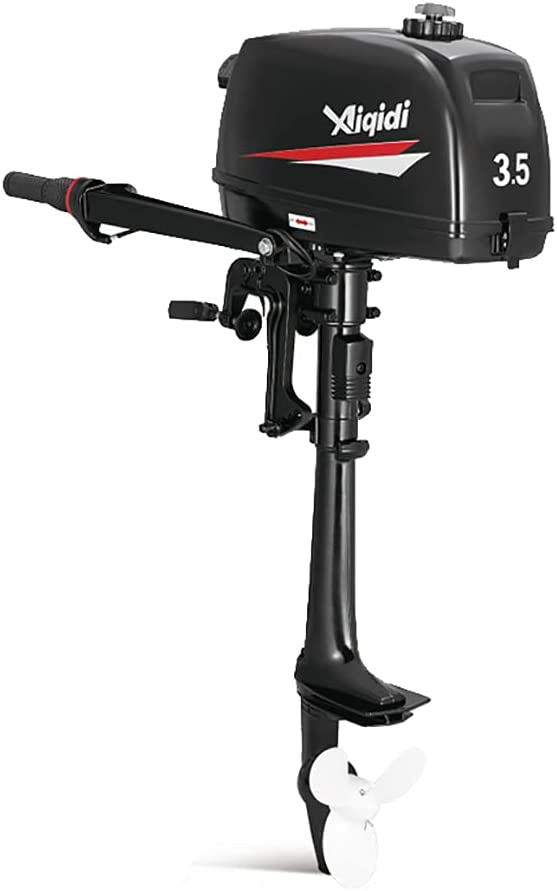 NOPTEG Attention brand Xiqidi Outboard Motor - 3.5Hp Boat Cooled Stroke Ranking TOP16 Water 2