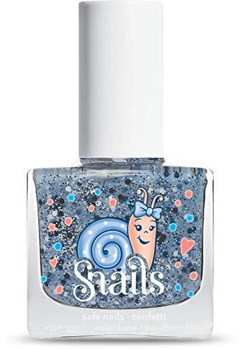 Snails Confetti Nagellack Wasser blau 10,5ml