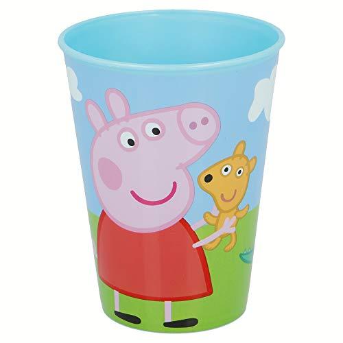 Novastyl 8012563 - Bicchiere in plastica/polipropilene, 7 5 x 7 5 x 9 7 cm, colore: Blu