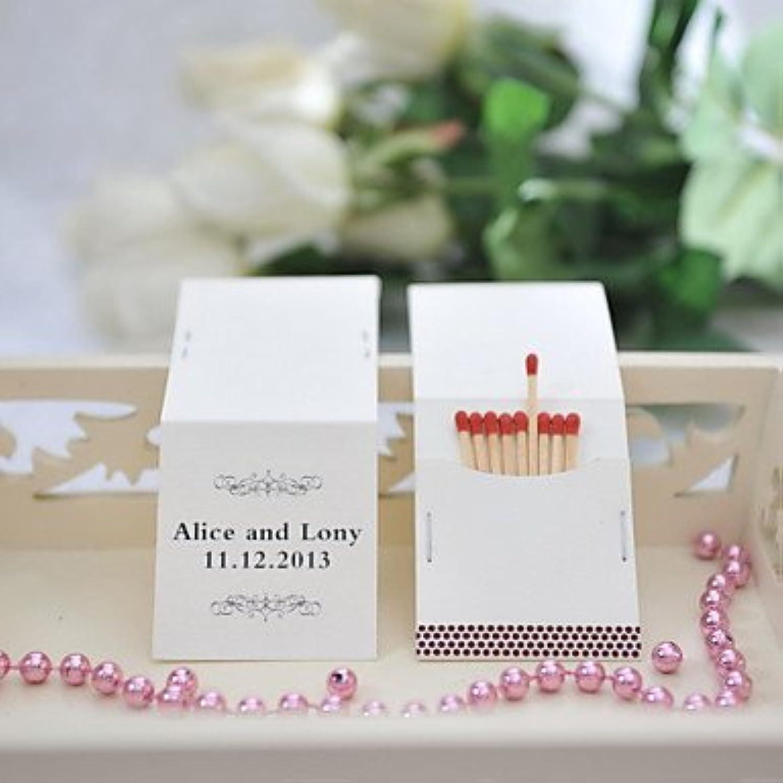 BST Wedding Reception Wedding Decor Personalized Matchbooks - Classic Pattern (Set of 25)