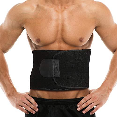 Bauchweggürtel Bauchgürtel, Verstellbarer Neopren Schwitzgürtel Fitnessgürtel für Damen und Männer, Taille Trimmer Sport Powergürtel Waisttrainer, Schwitzgürtel Bauchgurt Schwitzen und Abnehmen