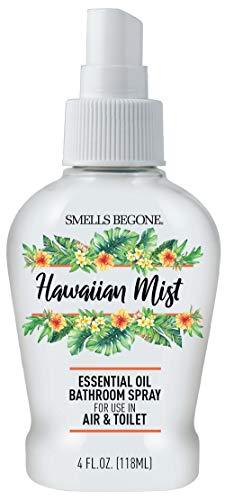 SMELLS BEGONE Essential Oil Air Freshener Bathroom Spray - Eliminates...