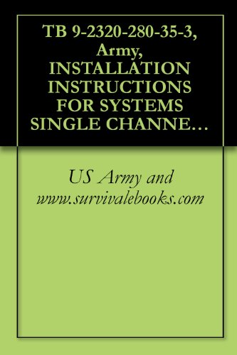TB 9-2320-280-35-3, Army, INSTALLATION INSTRUCTIONS FOR SYSTEMS SINGLE CHANNEL GROUND AND AIRBORNE RADIO SYSTEM (SINCGARS) AN/VRC-88F, AN/VRC-89F, AN/VRC-90F, ... AN/VAS-5A FOR VEHICLES TRUCK, UTILITY, 4