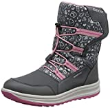 Geox Junior Girl J ROBY GIRL B WPF A ANKLE BOOTS DK GREY/PINK_26 EU