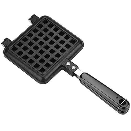 Single Head Waffle Pan, niet-Stick Iron Maker Bakvorm Gas Press Mold Plate Huishoudelijke Keuken Bakgereedschap Cake Oven