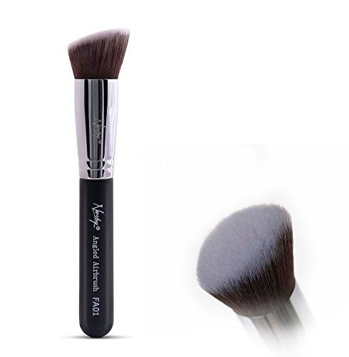 Nanshy Flat Angled Buffer Kabuki Makeup Brush - Blend Foundation Contour...