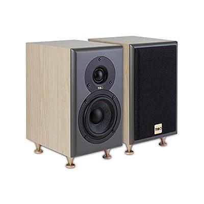Tibo Legacy 1+ | Passive Hi-Fi Bookshelf Speakers | 100W | Light Oak, 23016 by TIBO