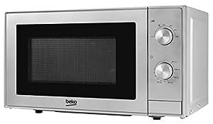 Beko MOC20100S Solo Microwave, 20 Litre, 700 W, Silver