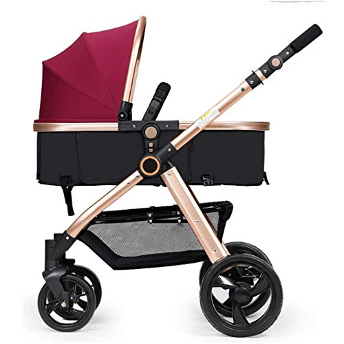 Read About Comfortable and Safe Travel System Infant Carriage Portable Baby Stroller 3 in 1,Lightwei...