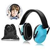 WADEO Gehörschutz Kinder Kids Baby Gehörschutz Stirnband Ohrenschützer Kidz Ohrenschützer Lärmschutzkopfhörer Für Kinder Lärmschutz Kopfhörer,Blau