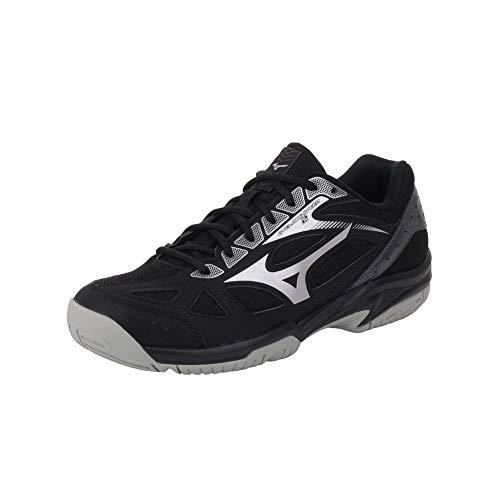 Mizuno Cyclone Speed 2, Zapatillas de Voleibol Unisex Adulto, Black Black Silver Dark Shadow 97, 43 EU