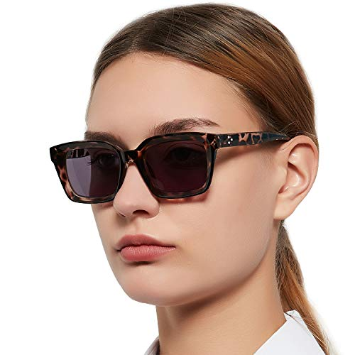 MARE AZZURO Reader Sunglasses Women UV Protection Outdoor Reading Glasses 0.5 0.75 1.0 1.25 1.5 1.75 2.0 2.25 2.5 2.75 3.0 3.25 3.5 3.75 4.0 (Brown, 3.00)