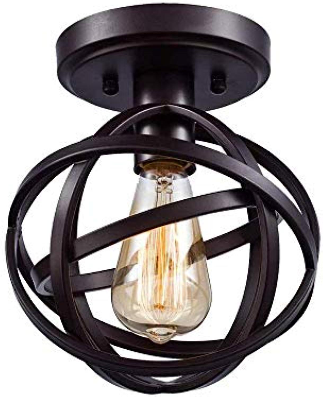 Pendelleuchte, Modern Art und Weise Eisen Glas Pendelleuchte LED-Lampe (Gold)