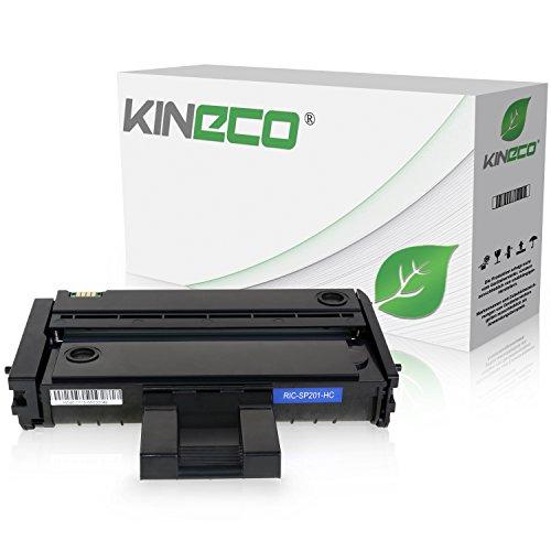 Toner kompatibel mit Ricoh SP201nw, SP203, SP204sfnw, SP211, SP211sf nw, SP212nw - 407255 - Schwarz 1.500 Seiten