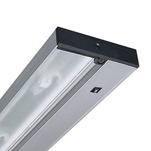 Juno Lighting Group UPX214-SL Xenon Pro-Series Under Cabinet Fixture, 14-Inch, Brushed Silver