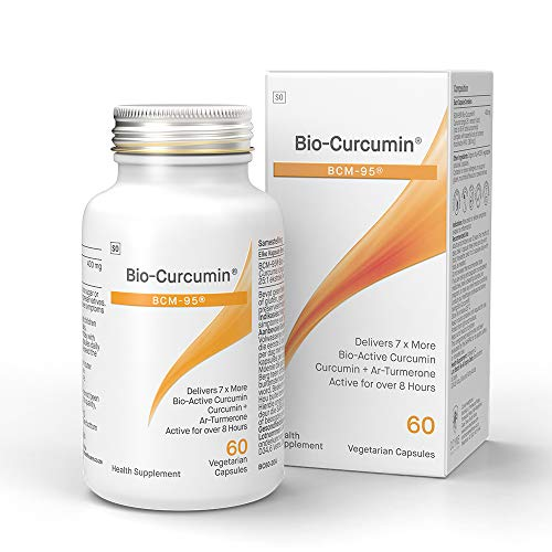 Coyne Healthcare Bio-Curcumin Supplement with Bcm-95 60 Vegetable Capsules