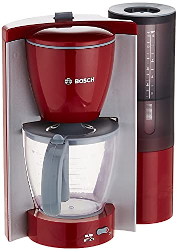 Theo Klein 95770 - Bosch Kaffeemaschine, rot/grau, Spielzeug
