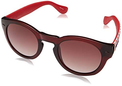 Havaianas Sunglasses Trancoso/M Occhiali da sole Unisex Adulto, Dkred Str 49