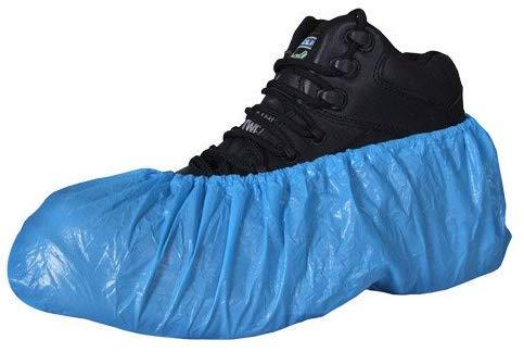 LY88 100 standaard wegwerpoverschoenen, 50 paar watervaste wegwerpschoenovertrekken, tapijt, schoenbescherming