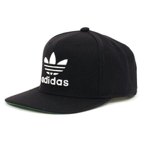 adidas Thrasher Snapback Hat Black/White, One Size