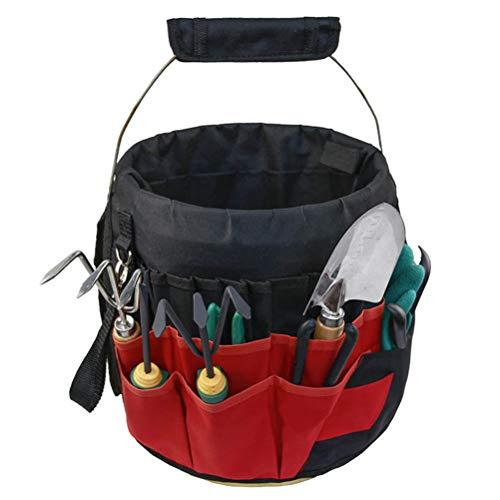 Bestice Green Plant Utensils Storage Bag Multi-Function Portable Garden Tool Bag Garden Tool Sac de Rangement Pratique