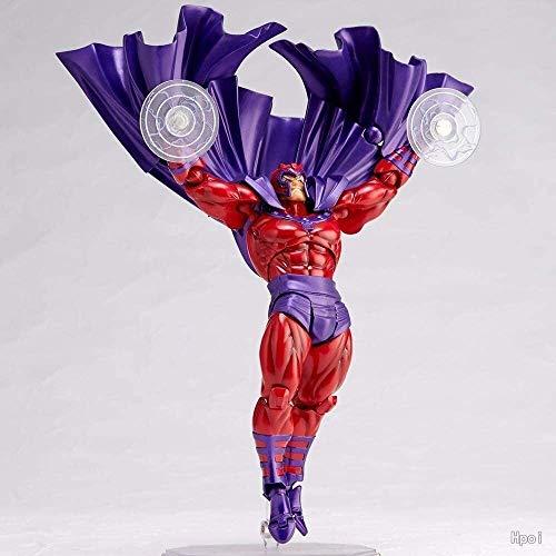 QI-shanping POP Magneto König-Puppe-Kasten-Spielzeug Statue PVC Box Höhe 6.7 Zoll